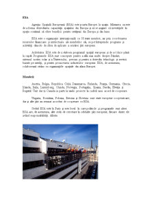 Proiect OEI - Agentia Spatiala Europeana (ESA) - Pagina 1
