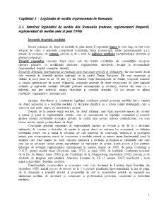 Legislatia de Mediu Reglementata in Romania - Pagina 1