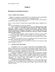 Burse de Marfuri si Valori - Pagina 1