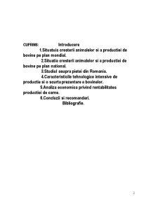 Practica la Tehnologia Cresterii Animalelor - Studiul Productiei de Carne la Bovine - Pagina 2