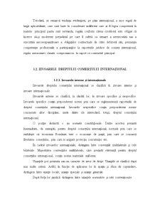 Dreptul Comertului International - Aspecte Generale - Pagina 4