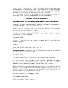 Ascultarea - Etapele Procesului de Ascultare - Tipuri de Ascultare - Pagina 5