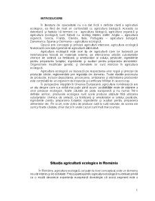 Situația Agriculturii Ecologice în România - Pagina 2