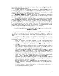 Situația Agriculturii Ecologice în România - Pagina 3