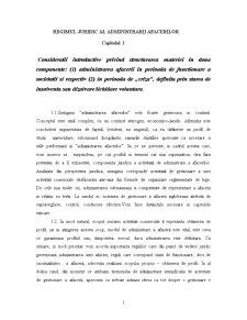 Regimul Juridic al Afacerilor - Pagina 1