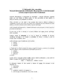 Sisteme Informaționale și Informatice - Pagina 2