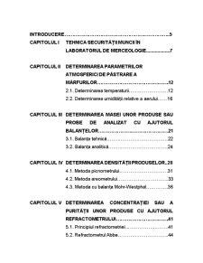 Fundamentele Stiintei Marfurilor - Metode Generale de Determinare a Caracteristicilor de Calitate ale Marfurilor - Pagina 2