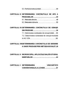 Fundamentele Stiintei Marfurilor - Metode Generale de Determinare a Caracteristicilor de Calitate ale Marfurilor - Pagina 3
