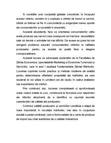 Fundamentele Stiintei Marfurilor - Metode Generale de Determinare a Caracteristicilor de Calitate ale Marfurilor - Pagina 4