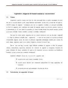 Asigurarea Bunurilor sau Valorilor pentru Cazurile de Furt prin Efracție și Acte de Tâlhărie - Pagina 3