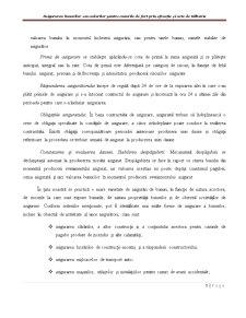 Asigurarea Bunurilor sau Valorilor pentru Cazurile de Furt prin Efracție și Acte de Tâlhărie - Pagina 5
