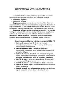 Configuratia Hardware - Pagina 1