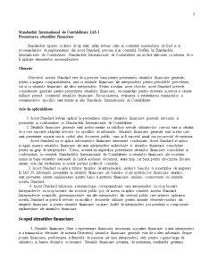 Standard International de Contabilitate  IAS 1 - Pagina 2