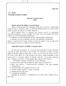 Materiale cu Memoria Formei - Pagina 1