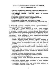 Contabilitatea Bancara - Pagina 1