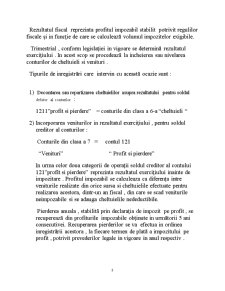 Controlul Modului de Calcul, Inregistrare si Varsare La Bugetul Statului a Impozitului pe Profit - Pagina 3