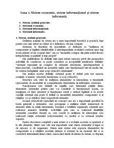 Sisteme Informatice Gestiune - Pagina 1