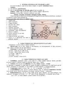 Subiecte la Cerinte de Apa in Industrie - Pagina 1