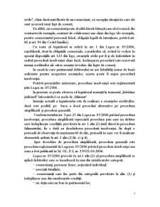 Procedura Insolvenței - Pagina 2