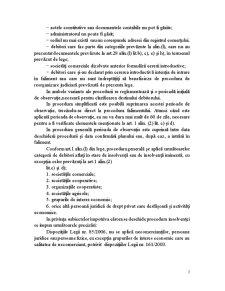 Procedura Insolvenței - Pagina 3