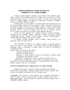 Poluarea Produsa de Centrala Electrica si de Termoficare (CET) Asupra Mediului - Pagina 2