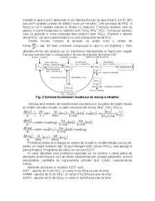 Cercetarea Experimentala si Modelarea Matematica a Poluarii Solului si a Apelor Subterane cu Compusi ai Azotului - Pagina 5