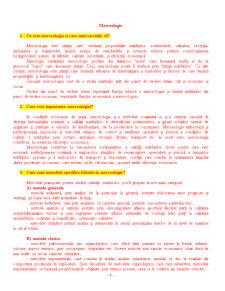 Bazele merceologiei - Subiecte Examen - Pagina 1