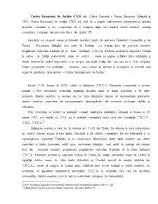 Functiile Curtii de Justitie Europene - Pagina 1