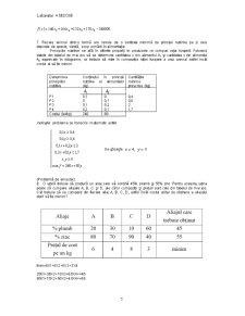 Aplicații ale Programării Liniare în Sistemele de Producție - Pagina 5