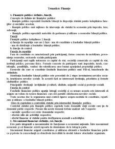 Tematică Finanțe - Pagina 1