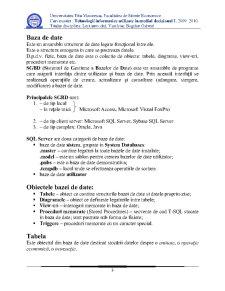 Creare Tabele în SQL Server 2008 - Pagina 3