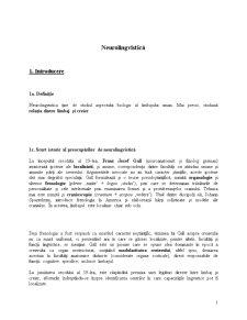 Neurolingvistică - Pagina 1