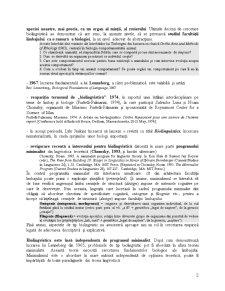 Biolingvistică - Pagina 2