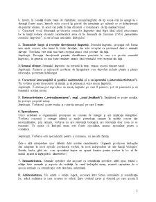 Caracteristicile Limbajului Uman Natural - Pagina 2
