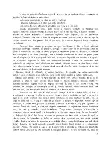 Problematica Schimbarii in Limba - Tipologia Schimbarii in Limba - Pagina 4