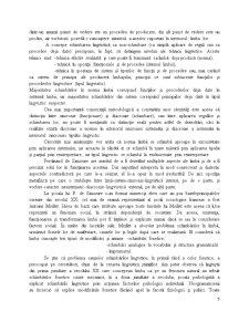 Problematica Schimbarii in Limba - Tipologia Schimbarii in Limba - Pagina 5