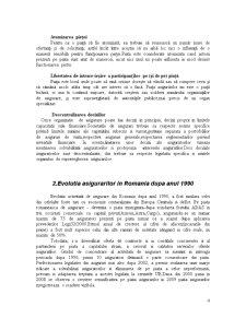 Analiza Comparativa a Pietei Asigurarilor din Romania si Olanda - Pagina 4