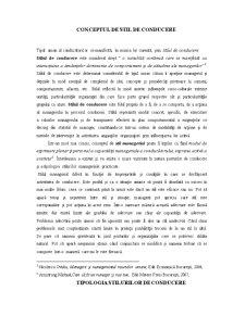 Stilul de Conducere și Cultura Organizațională - Pagina 3