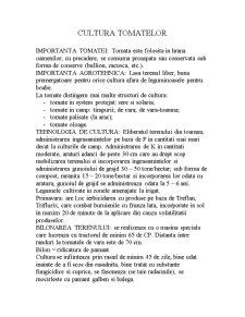 Cultura Tomatelor - Pagina 1