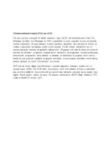 Proiect Unitatea Aritmetico-Logica - Pagina 1
