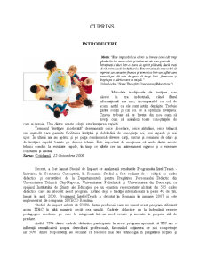 Sisteme de Instruire Interactiva - Exemplul unei Aplicatii de E-Learning - Modelul AEL-Siveco - Pagina 2