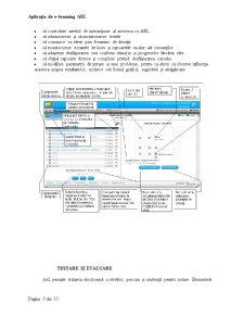 Sisteme de Instruire Interactiva - Exemplul unei Aplicatii de E-Learning - Modelul AEL-Siveco - Pagina 5