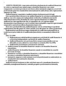 Audit Financiar - Pagina 1