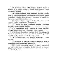 Drept Constituțional Național și European - Pagina 3