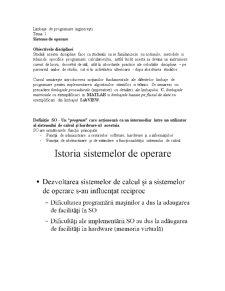 Limbaje de Programare Inginerești - Pagina 1