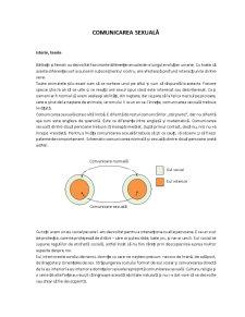 Comunicarea Sexuală - Pagina 1