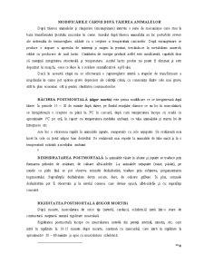 Morfologia Modificărilor Postmortem și Relevanța lor în Aprecierea Salubrității Carcaselor și Organelor - Pagina 2