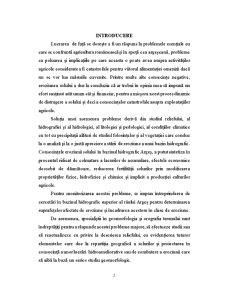 Potențialul Agricol al Județului Arges - Pagina 2