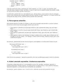 Aplicatii cu Arbori Binari - Evaluarea Arborilor Asociati Expresiilor - Pagina 2