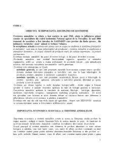 Zootehnie - Pagina 1